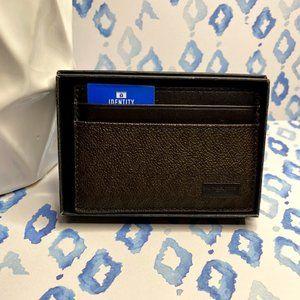 Michael Kors Men Jet Set Brown Card Case/Wallet